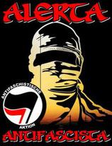 Sticker Alerta Antifascista
