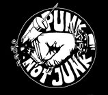 Aufnäher Punk Not Junk