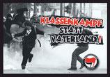 Sticker Klassenkampf statt Vaterland