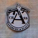 Crass Anarchy & Peace Metalpin