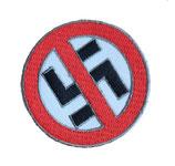 Aufnäher Anti-Nazi klein gestickt