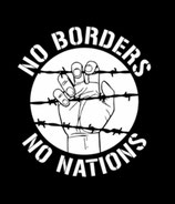Aufnäher No Borders