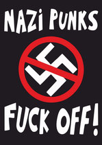 Sticker Nazi Punks Fuck Off