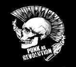Aufnäher Punk As Revolution