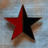 Stern Schwarz/Rot Metalpin