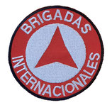Aufnäher Brigadas Internacionales gestickt