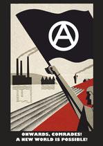 Sticker Onwards Comrades