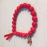 Perlen Rot