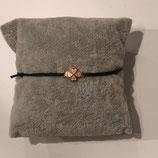 Armband Kleeblatt Rosé