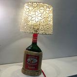Flaschen-Lampen - Grappa in Korbflasche