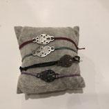 Armband Marienkäfer - Silber