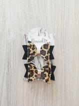 Hairclip Leopard 2er Set