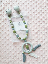 "Kinderwagenkette ""Dream"" green"