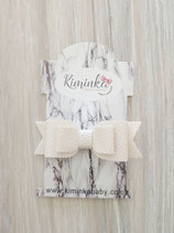 Hairclip beige