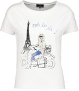 Monari - Shirt mit Parisdruck