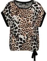 Monari - Shirt mit Leo-Print