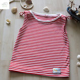 "Trägershirt ""Stripes"" aus der BIO-Kollektion ""Maritime Summer"""