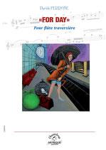 "Davide Perrone : ""For day"" pour flûte traversière"