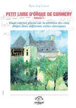 Marie-Ange Leurent, Petit livre d'orgue de Cormery Volume II