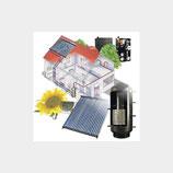 Solaranlage 8 m² + Trinkwasserspeicher 500 l - Komplettset