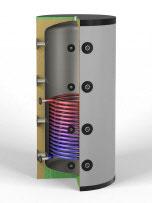 Pufferspeicher  825 Liter + 1 x Solarwärmetauscher