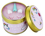B418 Unicorn Tales Tinned Candle
