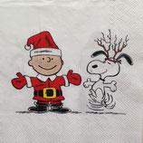 Charlie Santa ペーパーナプキン