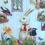 Magic Easter rabitt ペーパーナプキン(小)