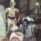 スターウォーズ BB-8&ストームトゥルーパー ペーパーナプキン