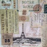 Ville de Paris ペーパーナプキン