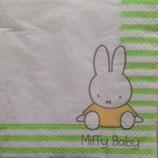 Miffy Baby ミッフィー ペーパーナプキン