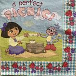 ドーラとピクニック ペーパーナプキン