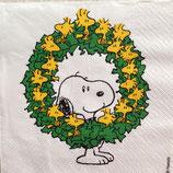 Woodstock  wreath ペーパーナプキン