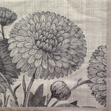 Botanical flowers ペーパーナプキン