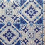 Tiles blue ペーパーナプキン