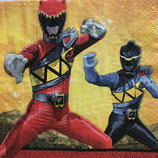 Power ranger dino charge ペーパーナプキン