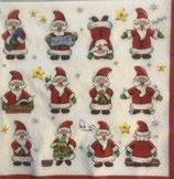 Funny Santa ペーパーナプキン