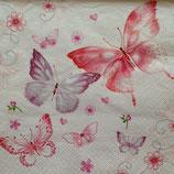 Sakura Butteflies ペーパーナプキン