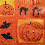 Smiling Pumpkins ペーパーナプキン