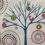 Dotty tree (小)ペーパーナプキン