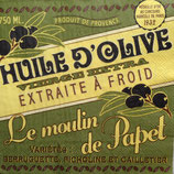 Huile d' olive ペーパーナプキン