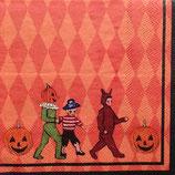 Halloween storybook ペーパーナプキン(小)