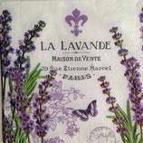 La Lavender ペーパーナプキン(小)