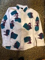 ピラトスシャツ WHT /L 4272