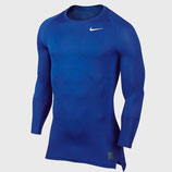 NikePro LS Compression - Blue