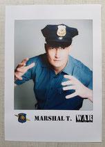 Marshal T. Vintage Autogrammkarte 3