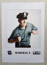 Marshal T. Vintage Autogrammkarte 4