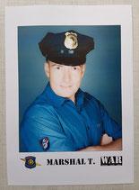 Marshal T. Vintage Autogrammkarte 1