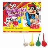 BOMBETAS GRANDES 50 Unid.