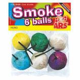 Smoke - Bolas de Humo de colores 6 Unid.
